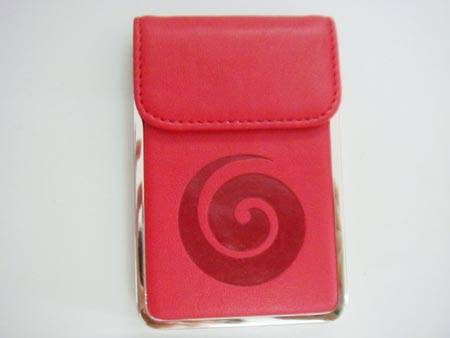 Souvenir Metal and Leatherette Business and Credit Card Holders