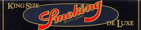 Smoking Kingsize Deluxe (Black) Cigarette Papers