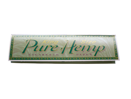 Pure Hemp Rolling Papers Kingsize