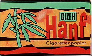 Gizeh Standardsize Hanf Double Papers