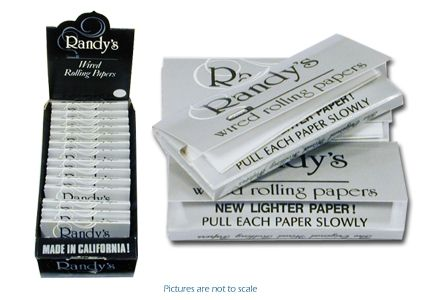 Randy's Wired Rolling Papers Carton