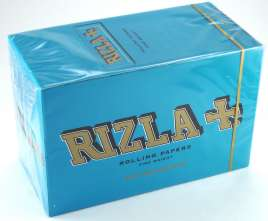 Rizla Regular Blue Single Rolling Papers Carton