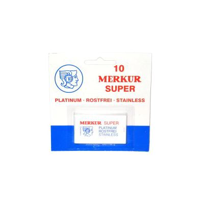 Merkur Safety Razor Blades 10's (Solingen - Germany)