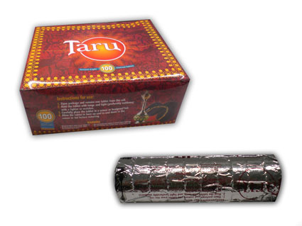 Taru Shisha Charcoal Medium (33mm) Carton