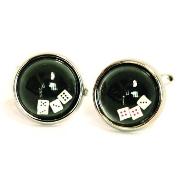Cuff Links Dice and Balls