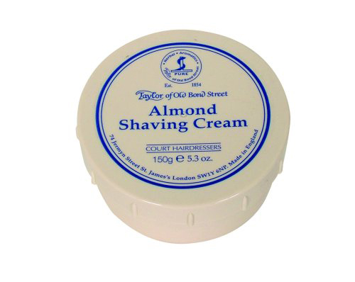 Taylors Almond Shaving Cream - 150gm Bowl