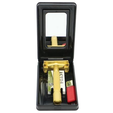 Comoy Safety Razor Pearl Gold