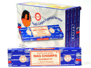 Satya Sai Baba Nag Champa Incense 40gm Carton