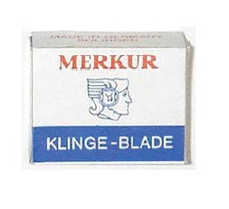 Safety Razor Merkur Moustache Blades 10's (Solingen - Germany)