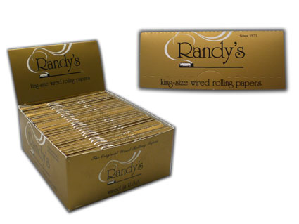 Randy's Wired Rolling Papers Kingsize Carton