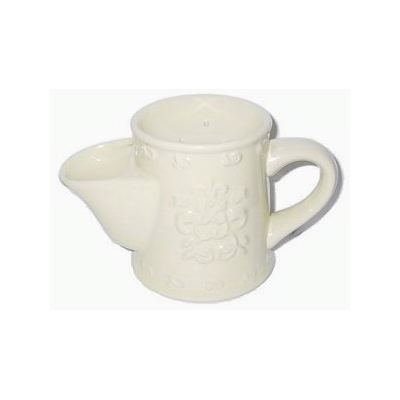 Comoy Shave Mug #3 White Embossed