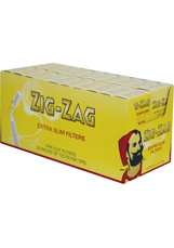 Filter Tips Zig Zag Extra Slim Carton