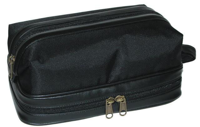 e62db6119b7e Super DOPP® Nylon Leather Travel Kit Bag - Pipe