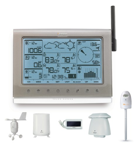 Weather Station Advance Pro WMR200 with Touch Screen from Oregon Scientific