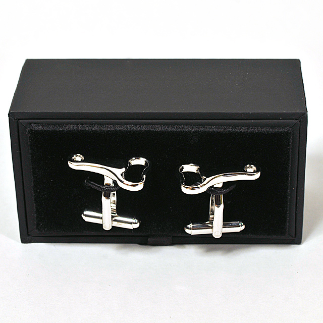 Cufflinks Chrome Metal Bottle Opener