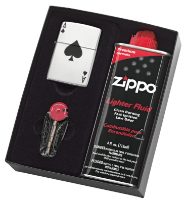 Zippo Lucky Ace Gift Pack