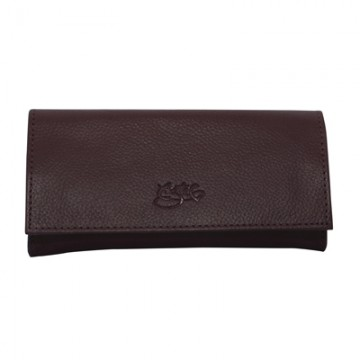 Tobacco Pouch Aztec 50gm Purple Leather