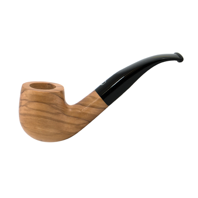 Falcon Coolway Olive Wood Pipe #53