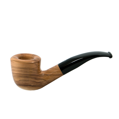 Falcon Coolway Olive Wood Pipe #55