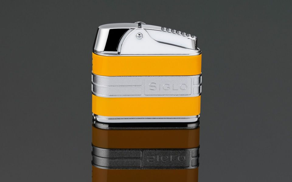 Siglo Retro II Lighter - Cohiba Yellow
