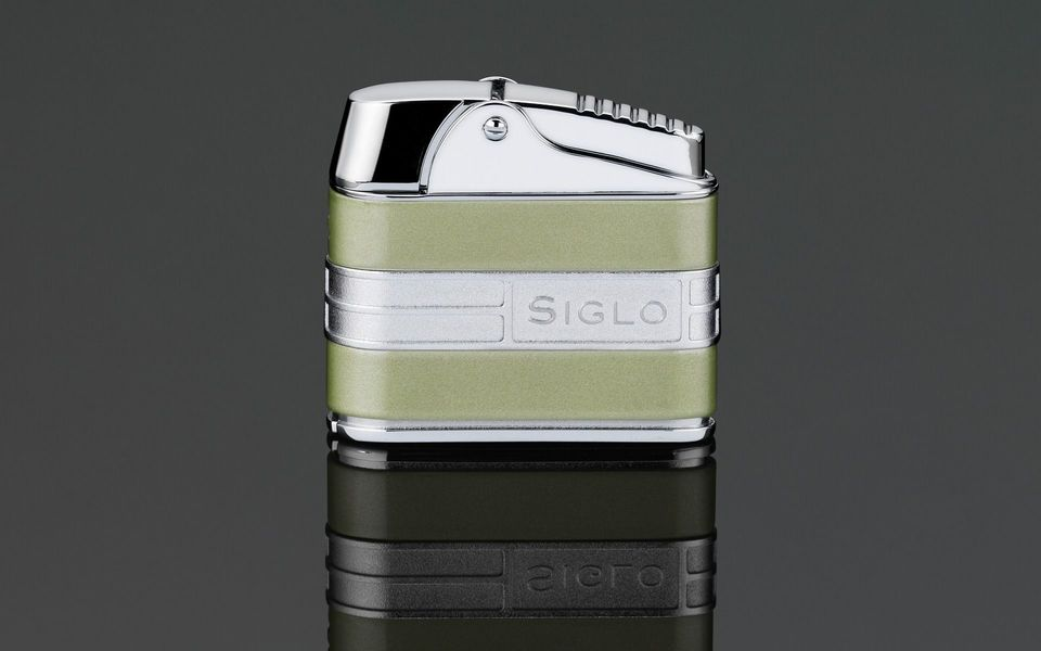 Siglo Retro II Lighter - Pearl Green