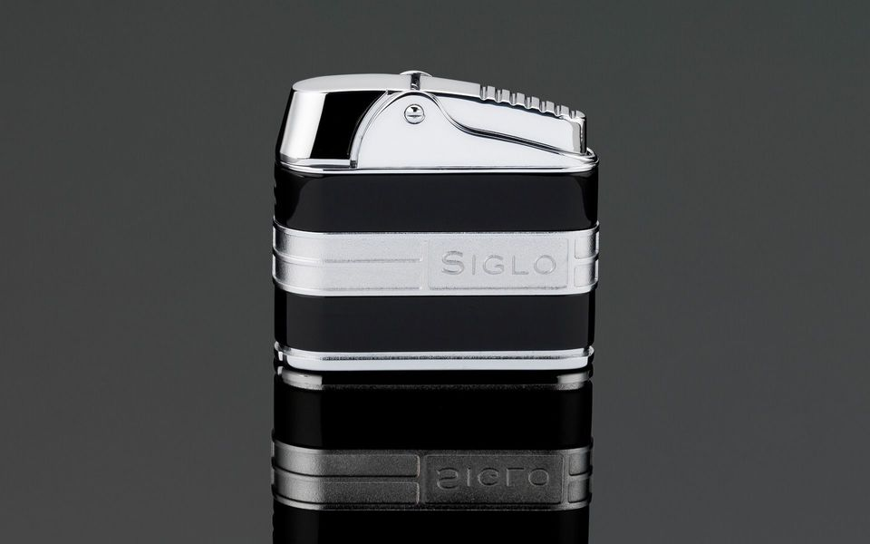 Siglo Retro II Lighter - Shiny Black
