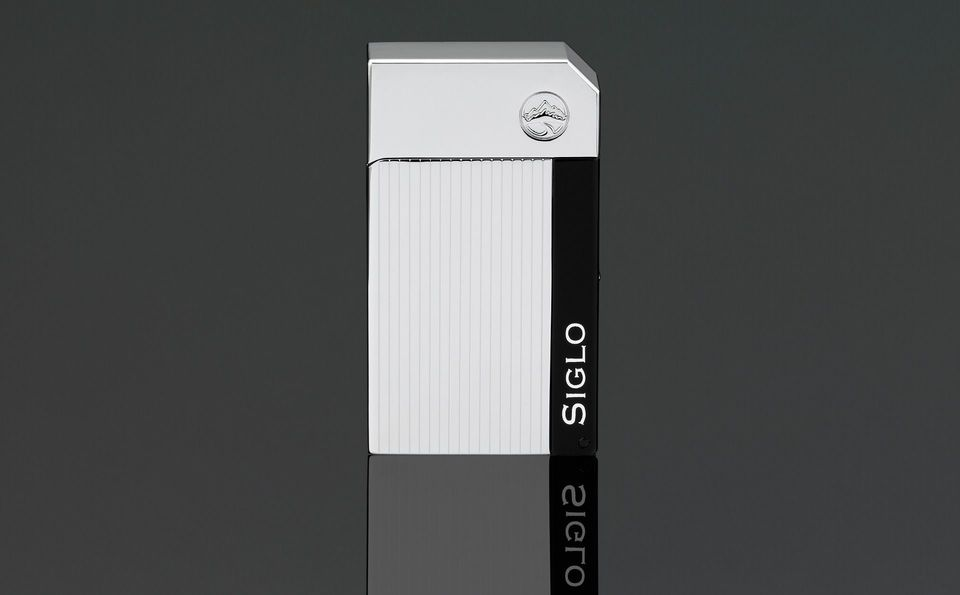 Siglo Chrome Lighter - High Altitude - Electro Stripes