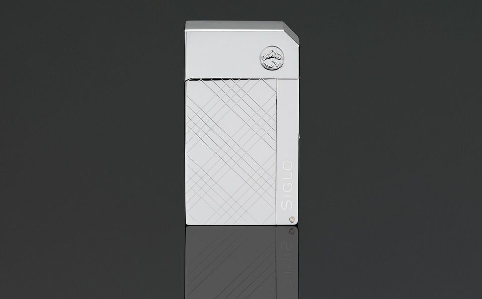 Siglo Chrome Lighter - High Altitude - Criss Cross