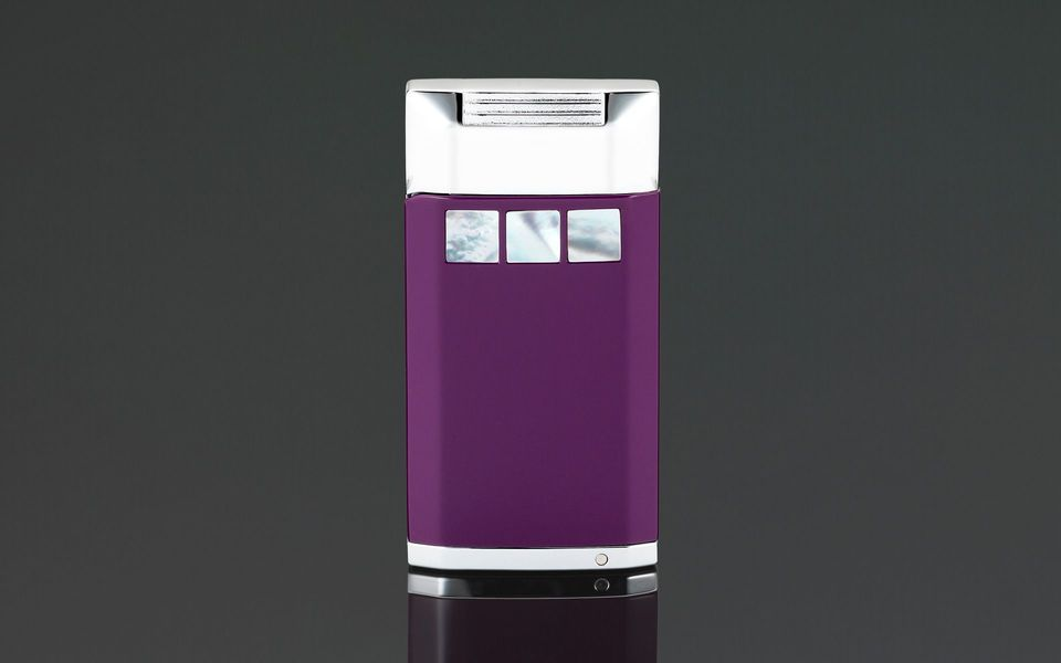 Siglo Mother of Pearl Lighter - Purple