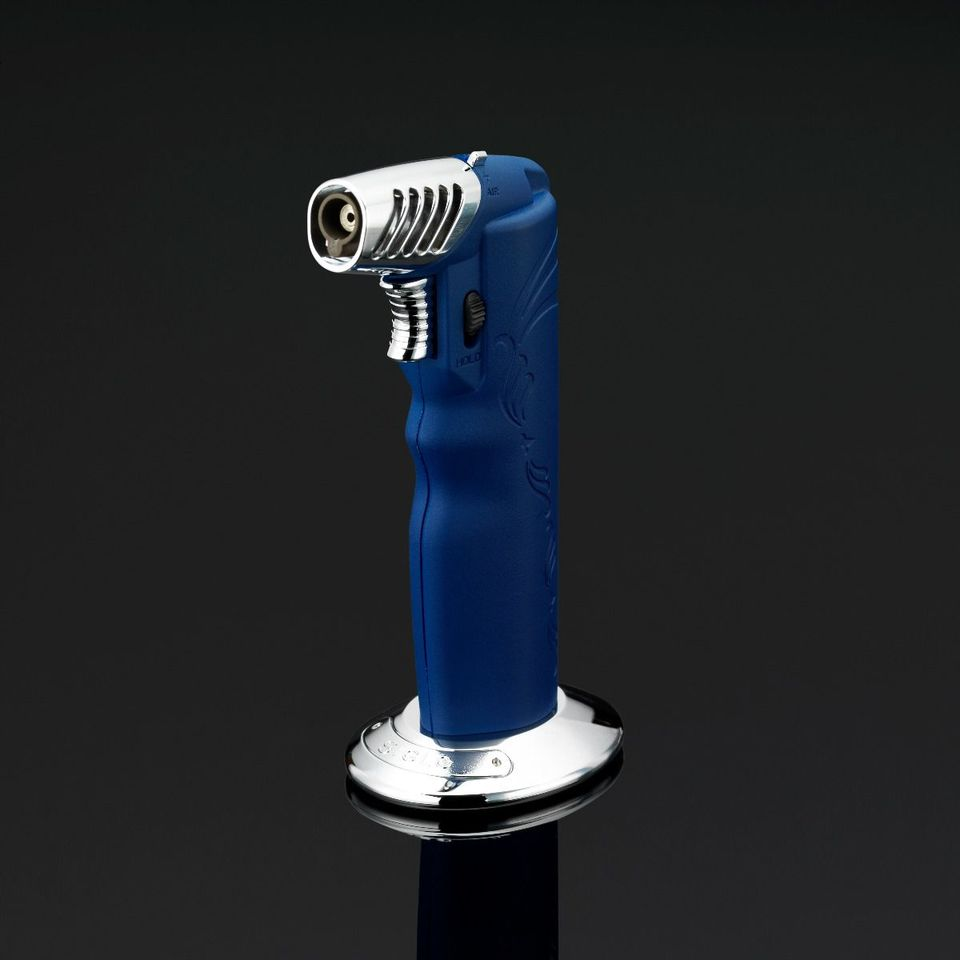 Siglo Oval Table Torch Lighter - Blue