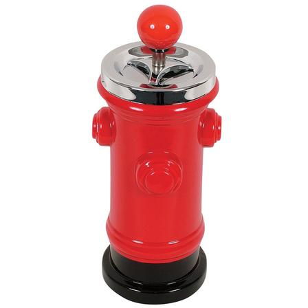 Spinning Ashtray Fire Hydrant Red (Desktop Size)