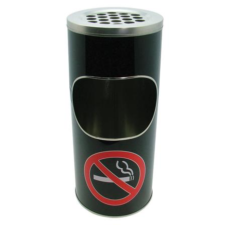 No Smoking Floor Ashtray/Bin