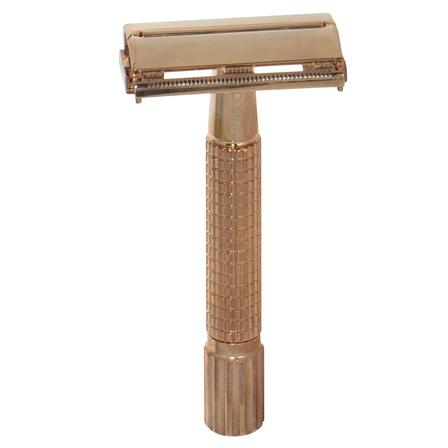 Comoy Rose Gold Safety Razor