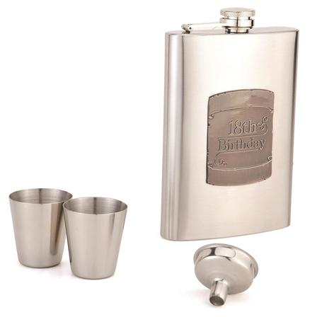 Hip Flask Coyote