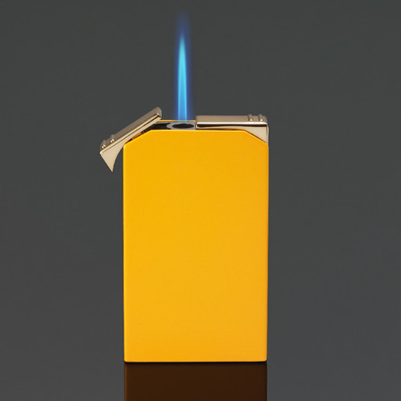 Siglo Twin Flame Lighter - Yellow and Checkers