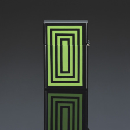 Siglo Geometry Lighter Series 1 - Green
