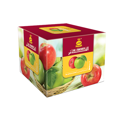 Al Fakher Shisha Two Apples Flavour 250gm