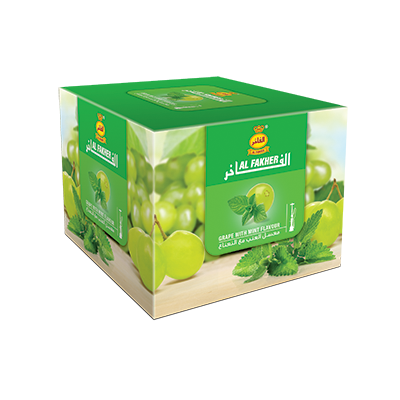 Al Fakher Shisha Grape with Mint Flavour 250gm