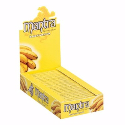 Mantra Banana Flavoured Papers